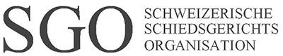 Schweiz.Schiedsgerichtsorganisation SGO Logo